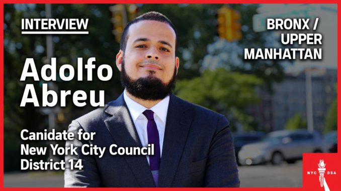 Adolfo Abreu candidate interview featured image